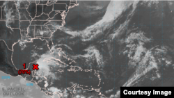 Posible primera tormenta tropical del año.