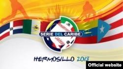 Logo de la serie del Caribe celebrada en Hermosillo