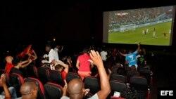Cubanos disfrutan del Mundial de Rusia 2018