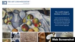 The Art Loss Register.