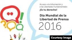 Día Mundial de la Libertad de Expresión y Prensa