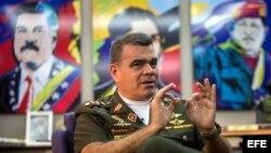 Ministro de defensa de Venezuela, General Vladimir Padrino López.
