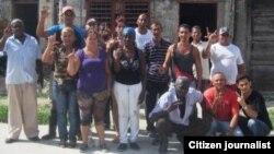 Reporta Cuba activista FANTU Santa Clara foto Borges
