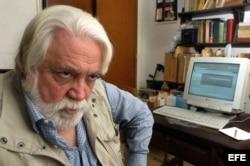El escritor uruguayo residente en Cuba Daniel Chavarría.
