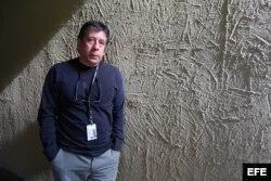 Fotografía del 14 de marzo de 2017, del realizador Jorge Dalton quien posa durante una entrevista con Efe, en el marco del Festival Internacional de Cine de Guadalajara (México)