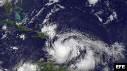Tormenta tropical Isaac.