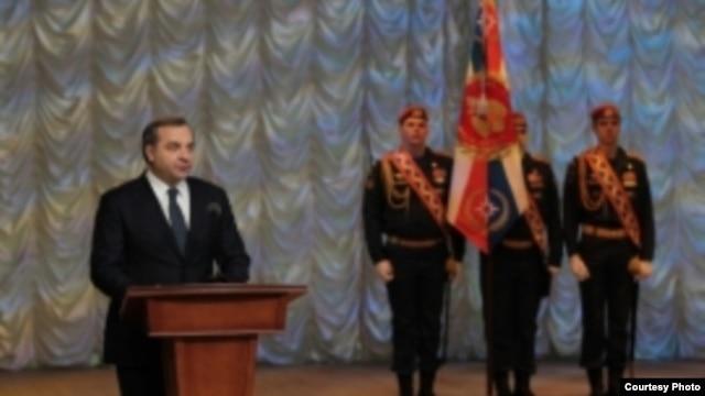 Ministro de Emergencias de Rusia Vladimir Pushkov