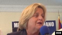La congresista federal Ileana Ros Lehtinen.