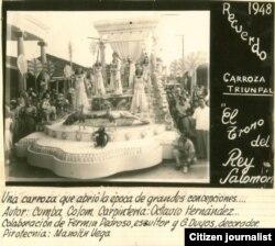 Reporta Cuba Parrandas Vueltas década del 30 siglo XX Foto Raúl González