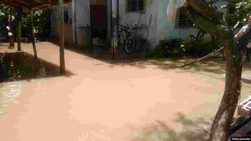 Inundaciones en Morón junio 2014