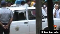 Reporta Cuba. Acto de repudio. Archivo.