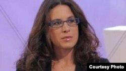 Ilaria Cavo, reportera italiana detenida en Cuba