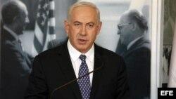 El primer ministro israelí, Benjamín Netanyahu.