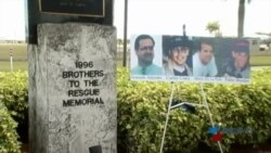 Recuerdan a víctimas del derribo de avionetas humanitarias de Hermanos al Rescate