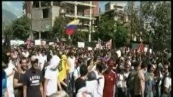 Continúan las manifestaciones de rechazo contra el gobierno de Nicolás Maduro