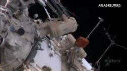 Paseo espacial en la Estación Espacial Internacional