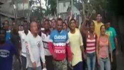Detenidos en Santiago de Cuba más de un centenar de opositores.