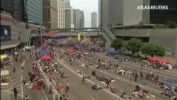 Ultimátum de los manifestantes al jefe de Gobierno de Hong Kong