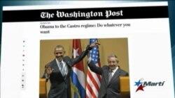 Washington Post: Obama ha dejado al Gobierno cubano hacer lo que quiera