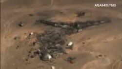 Sigue la búsqueda de víctimas de la explosión del avión egipcio