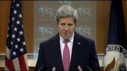 John Kerry habla sobre el informe mundial de EEUU de Derechos Humanos