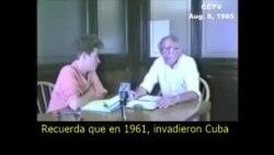 Bernie Sanders habla sobre Cuba en 1985