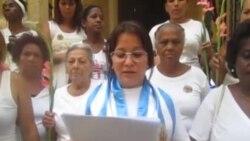 Movimiento Cívico Damas de Blanco Laura Pollán envía mensaje a Obama
