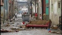 Fuertes lluvias dejan destrucción y muerte en la capital cubana