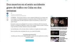 Preocupación y problemas con los accidentes de tránsito en Cuba