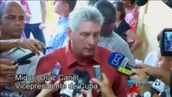Miguel Díaz Canel, Vice presidente de Cuba