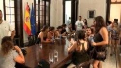 Turistas atrapados en Cuba con el huracán Irma