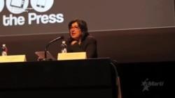 Amanpour recibe Premio Cano UNESCO en nombre de Jadida Ismailova