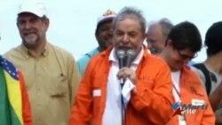 Liberan a Lula da Silva tras interrogatorio