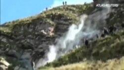Violentos disturbios entre policía y mineros en Cochabamba, Bolivia