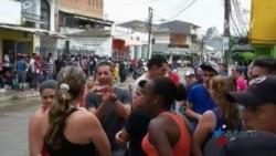 Cuello de botella de la crisis migratoria cubana se mueve a Colombia
