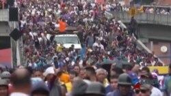 """La oposición y el Gobierno venezolano se enfrentará en """"la madre de las movilizaciones"""""""