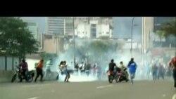Fuertes protestas en Venezuela