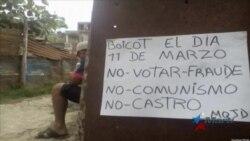 Oposición cubana llama al pueblo a no votar en venideras elecciones castristas