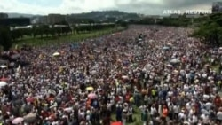 Disturbios durante varias protestas en Venezuela