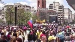 Se movilizan en Venezuela para exigir libertad de Ledezma