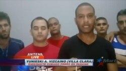 Exclusiva: Más migrantes cubanos retenidos en albergue con rejas en Panamá