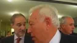 Margallo habla de libertad de expresión y transición en Cuba