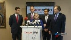 Recibe Marco Rubio apoyo de congresistas cubanoamericanos de Florida