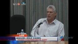Díaz-Canel critica el entusiasmo de los cubanos por llegada de crucero de EEUU