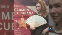 """Artistas cubanos interpretan musical """"Carmen"""" a lo cubano en París"""