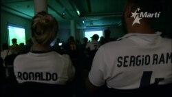 Así disfrutaron en Cuba el Barça-Real Madrid