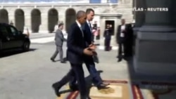 Barack Obama se reune con Felipe VI en su visita express a España