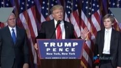 Trump celebra primera conferencia de prensa como presidente electo