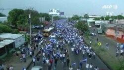 Protestas en Nicaragua por la salida de Daniel Ortega