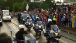 El Papa celebra la Jornada MUndial de la Juventud entre fuertes medidas de seguridad